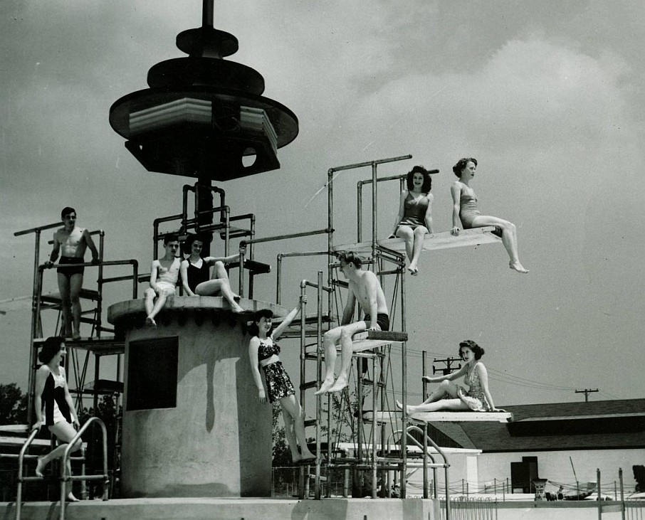 Seashore Pool - Levagood Park - Dearborn, Michigan