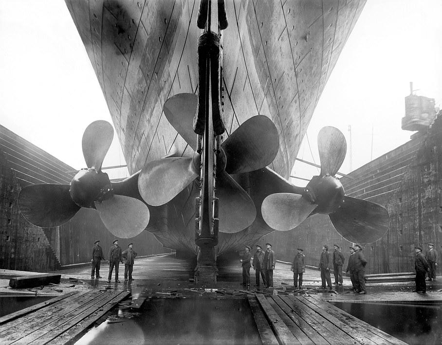 Huge, Gigantic, Large - Titanic Propellers